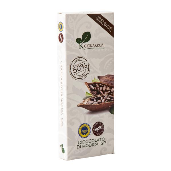 Ciocolata de Modica, Ciokarrua, 50% cacao, 100 g 0