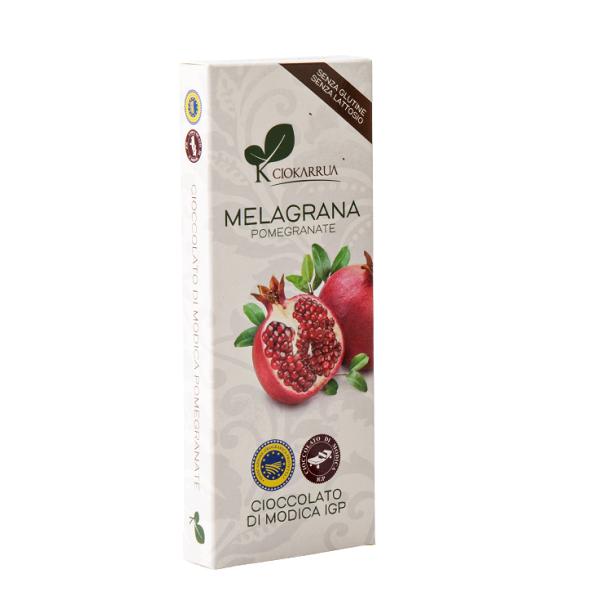 Ciocolata de Modica, Ciokarrua, aroma de rodie, 50% cacao, 100 g 0
