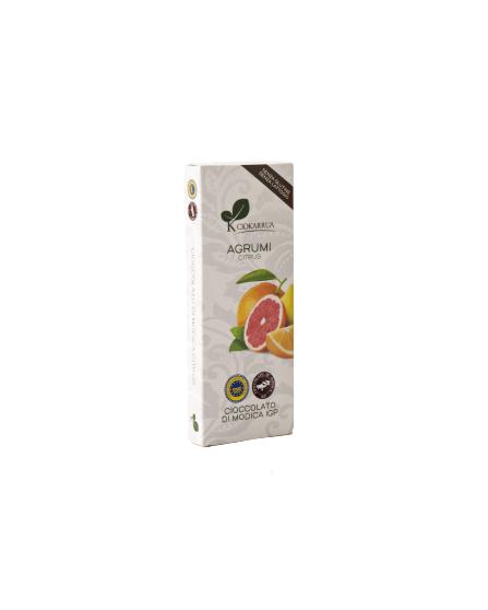 Ciocolata de Modica, Ciokarrua, citrice, 100g 0