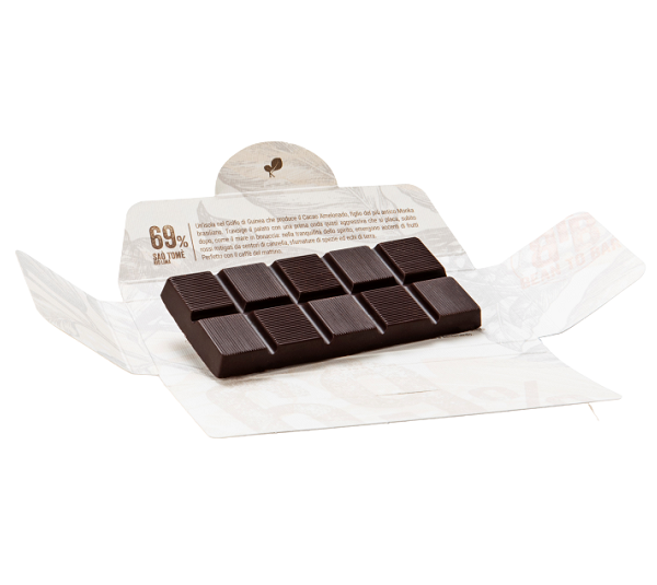 Ciocolata de Modica, Ciokarrua, Single Origin, 69% cacao, 50 g 1