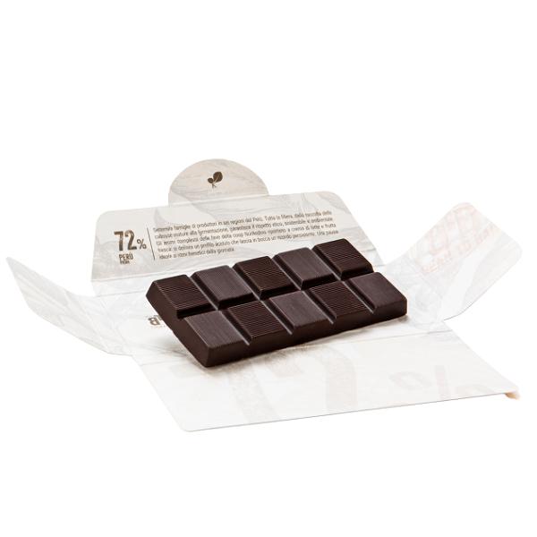 Ciocolata de Modica, Ciokarrua, Single Origin, 72% cacao 50 g 1