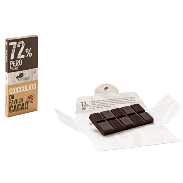 Ciocolata de Modica, Ciokarrua, Single Origin, 72% cacao 50 g 2