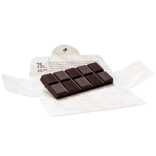 Ciocolata de Modica, Ciokarrua, Single Origin, 75% cacao 50 g 2