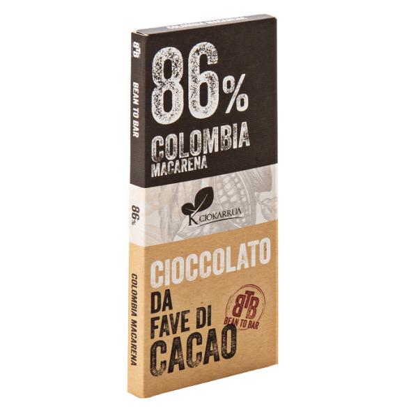 Ciocolata de Modica, Ciokarrua, Single Origin, 86% cacao, 50g 0