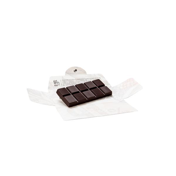 Ciocolata de Modica, Ciokarrua, Single Origin, 91% cacao, 50 g 1
