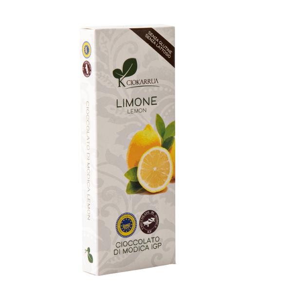 Ciocolata Modica, Ciokarrua, aroma de lamaie, 50% cacao 100 g 0