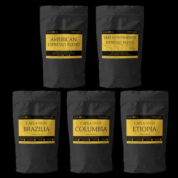 ESPRESSO - Selectie degustare - 5 tipuri de cafea de specialitate 0