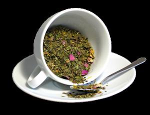 Ceai Beauty Queen, coktail de ceai alb, aromatizat cu fructe, 50g1