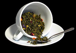 Ceai Blue Sky, coktail de ceai verde si flori, 50g1