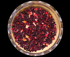 Ceai Hibiscus Petals, 100% petale de hibiscus uscate, 50g0