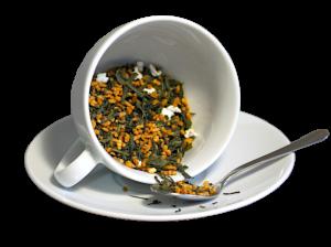 Ceai Japan Genmaicha , coktail de ceai verde si orez prajit si expandat, Japonia, 50g1