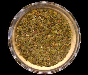 Ceai Peppermint, 100% frunze de menta uscate, 50 g0
