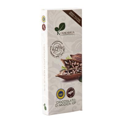 Ciocolata de Modica, Ciokarrua, 50% cacao, 100 g0