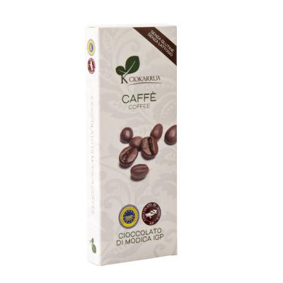 Ciocolata de Modica, Ciokarrua, aroma de cafea, 50% cacao, 100 g0