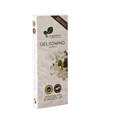 Ciocolata de Modica, Ciokarrua, aroma de iasomie, 50% cacao 100 g0