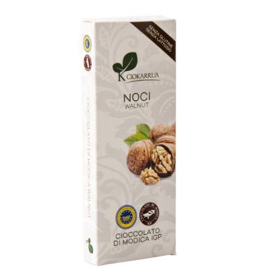 Ciocolata de Modica, Ciokarrua, cu nuci, 50% cacao, 100 g0
