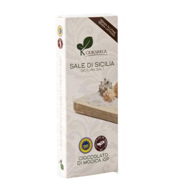 Ciocolata de Modica, Ciokarrua, cu sare, 50% cacao 100 g0