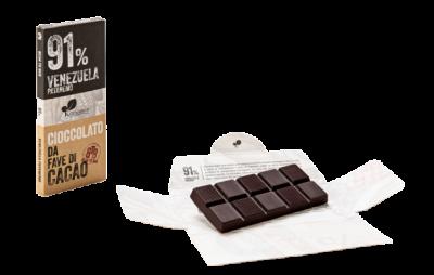 Ciocolata de Modica, Ciokarrua, Single Origin, 91% cacao, 50 g2