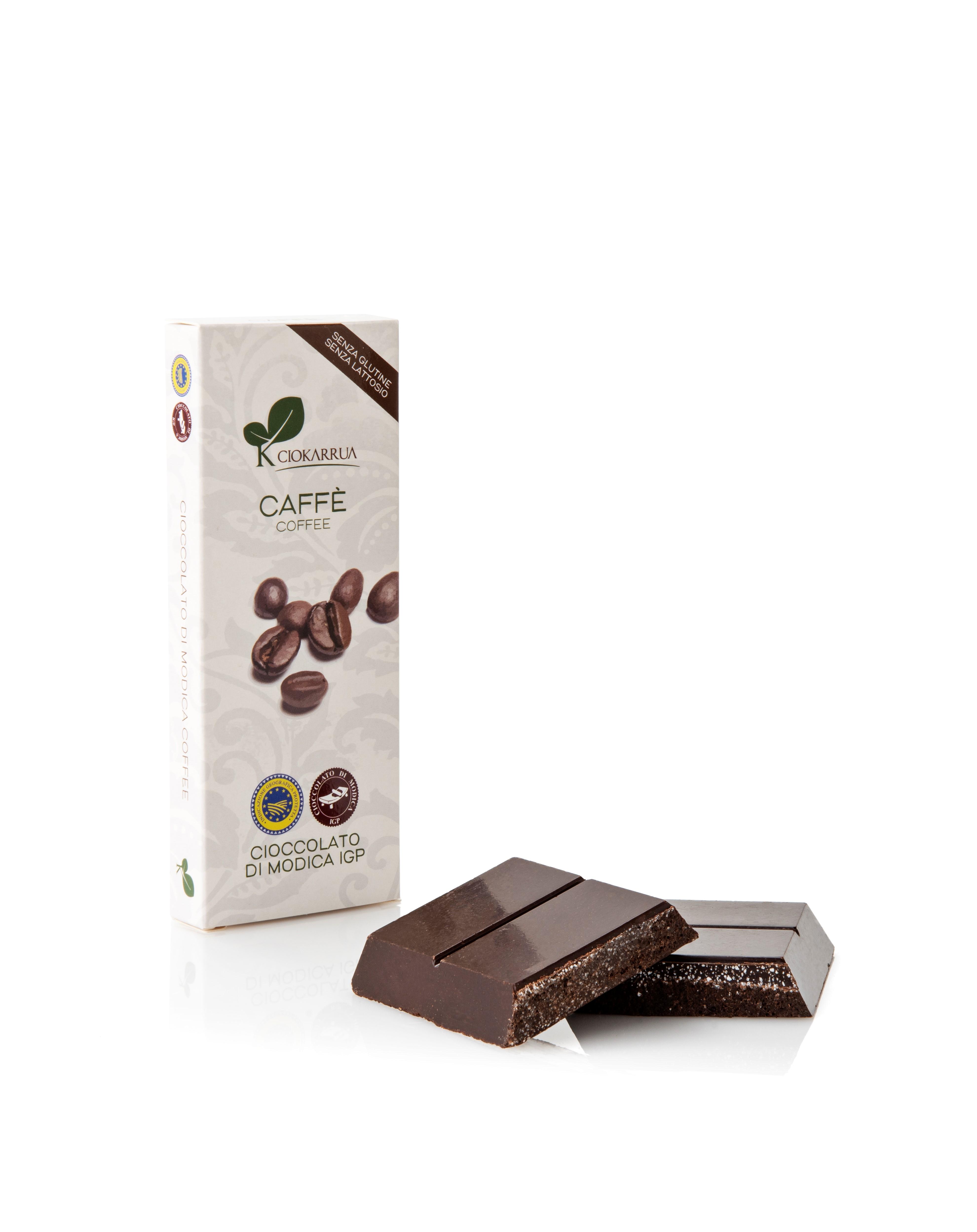Ciocolata de Modica, Ciokarrua, aroma de cafea, 50% cacao, 100 g1
