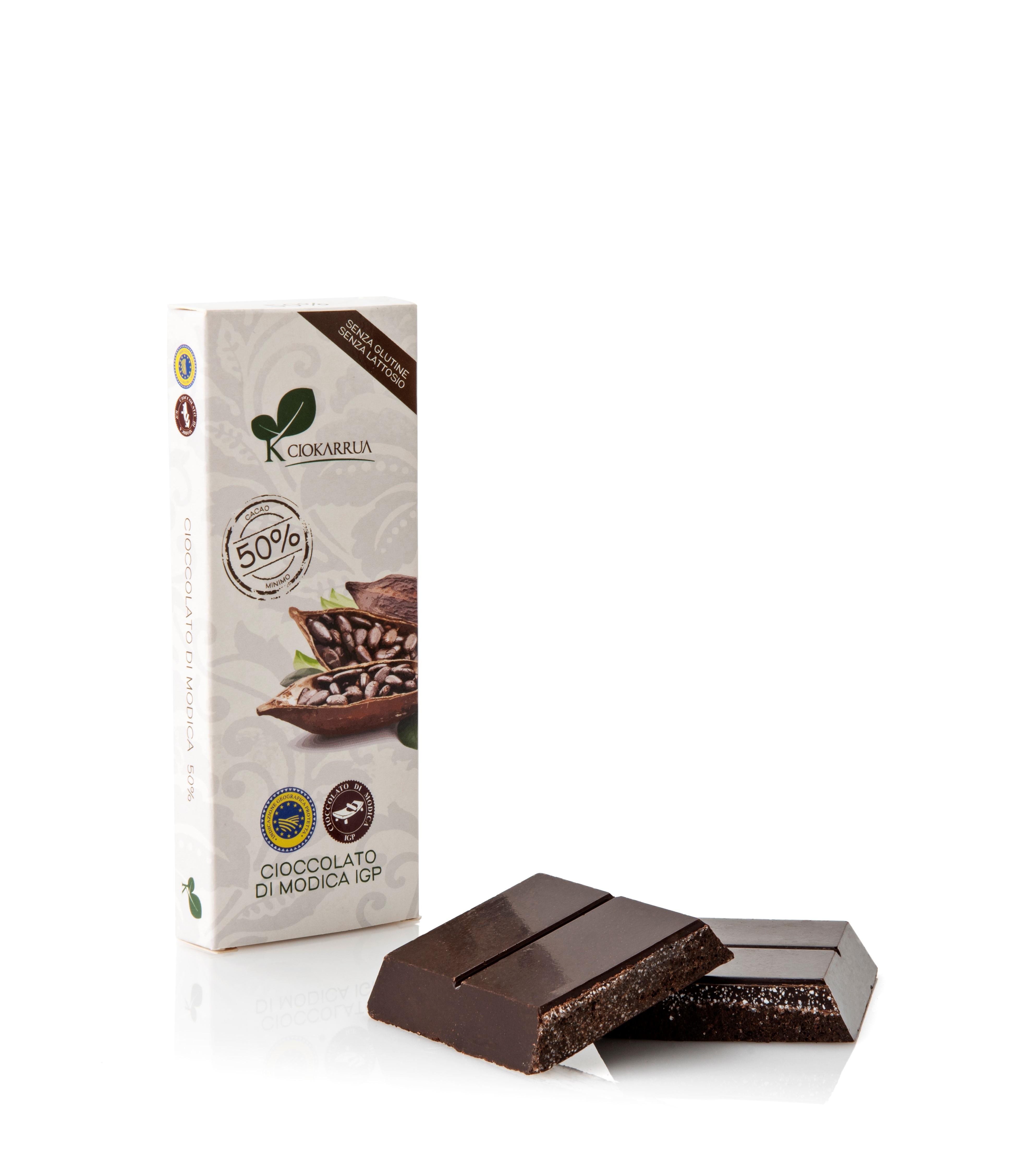 Ciocolata de Modica, Ciokarrua, 50% cacao, 100 g1