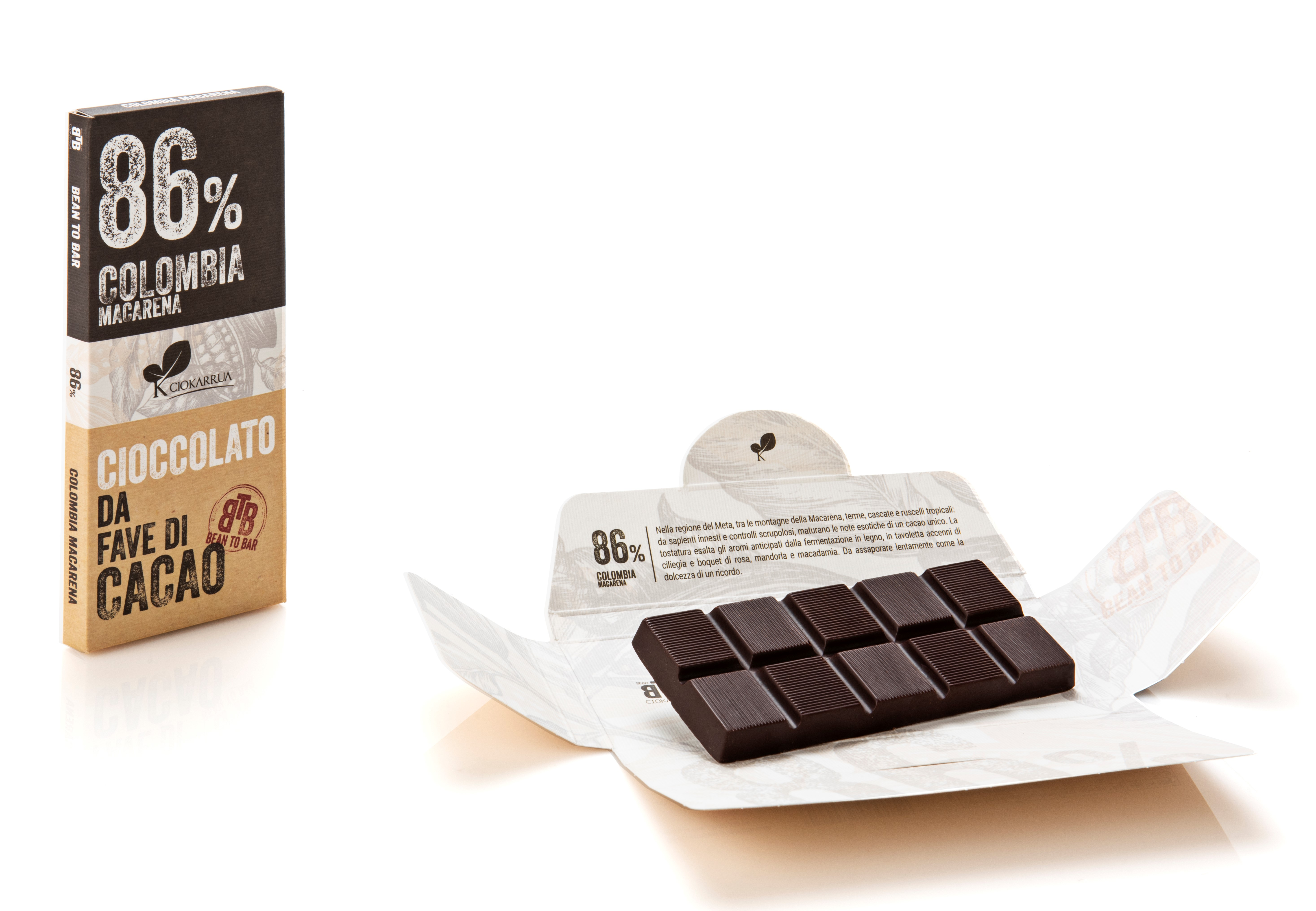 Ciocolata de Modica, Ciokarrua, Single Origin, 86% cacao, 50g1