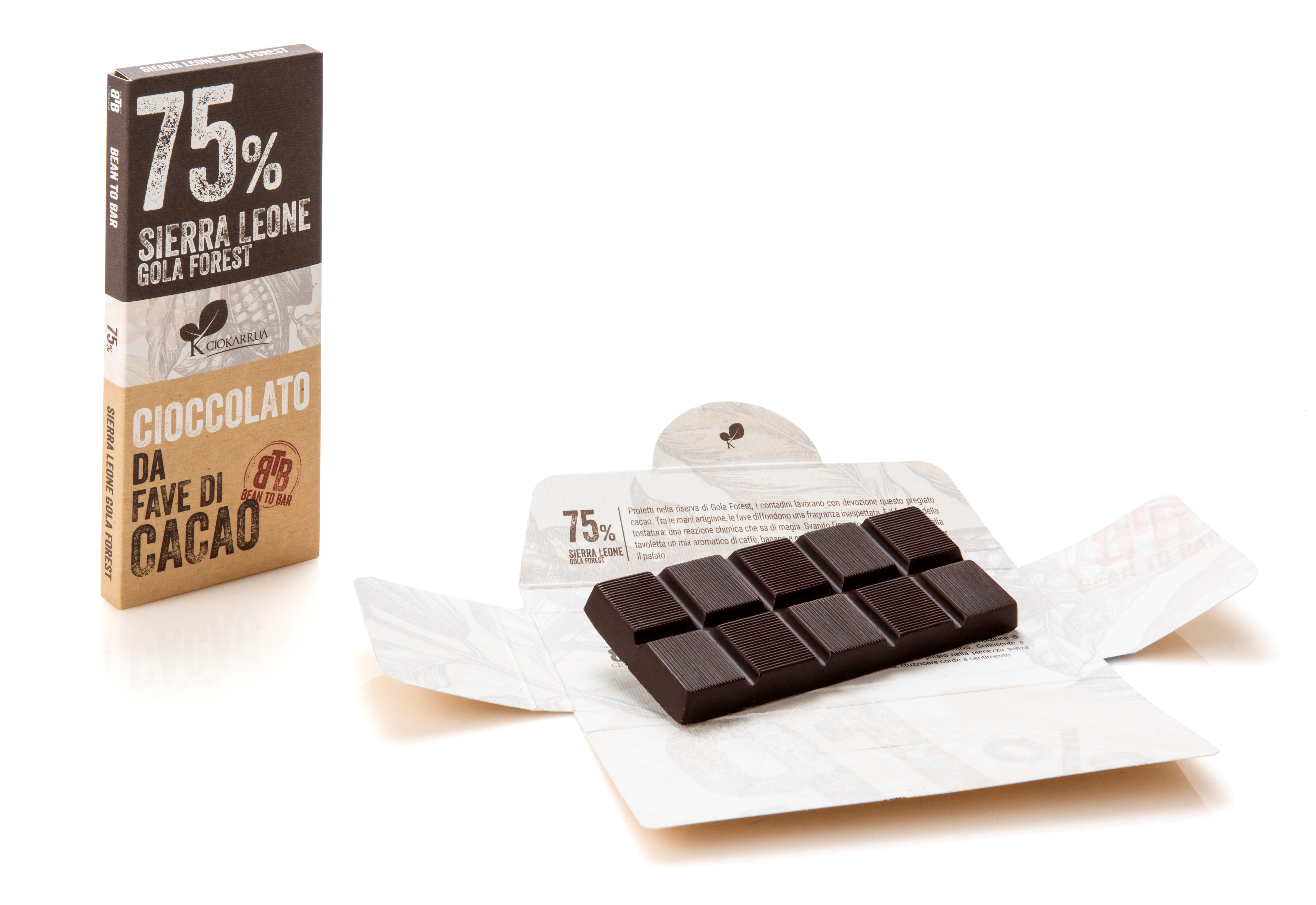 Ciocolata de Modica, Ciokarrua, Single Origin, 75% cacao 50 g 1