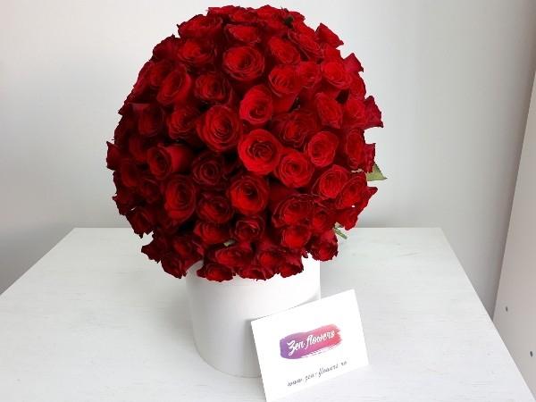 101 Trandafiri rosii 0