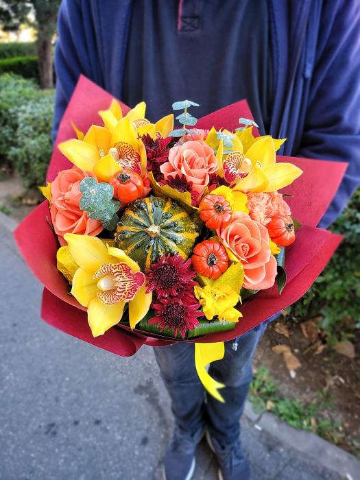Dovlecei tartacute si flori [1]