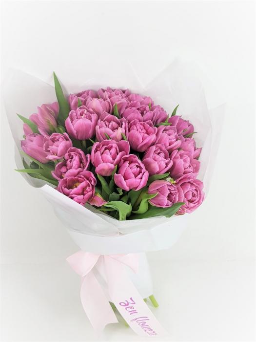 25 lalele roz 0