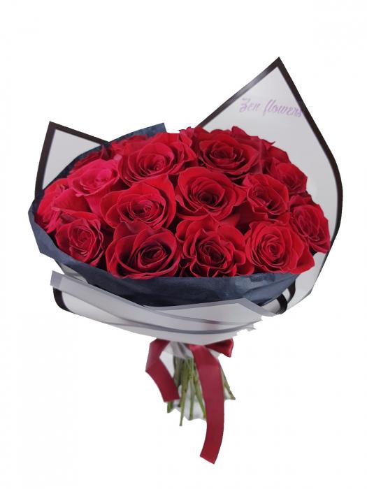 25 trandafiri rosii [0]