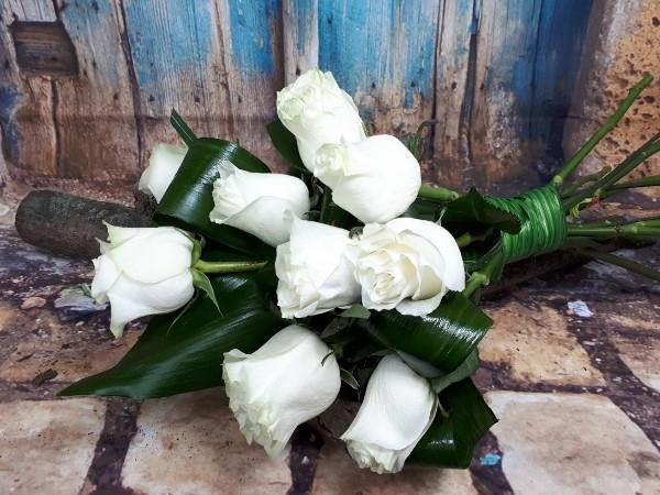 9 Trandafiri albi 0
