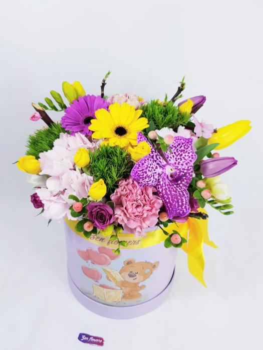 Tedy's flower box 0