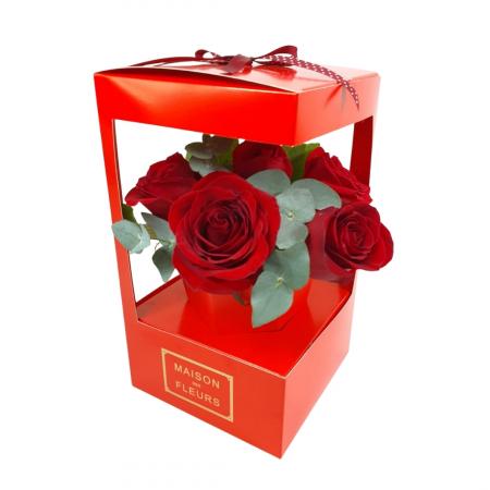 5 trandafiri in cutie [0]