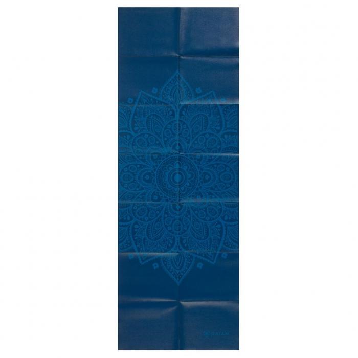 Saltea Yoga Gaiam Pliabila - 2 mm - Sundial Albastru 2