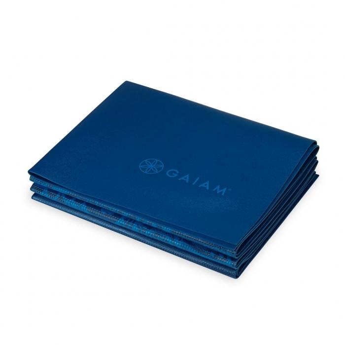 Saltea Yoga Gaiam Pliabila - 2 mm - Sundial Albastru 3