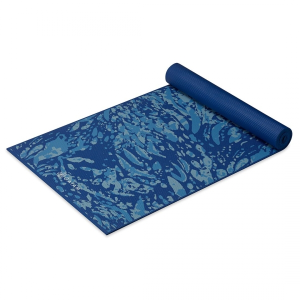 Saltea Yoga Gaiam Premium - 6 mm - Coastal Blue 2