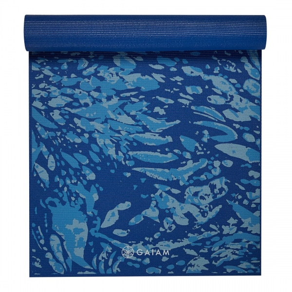 Saltea Yoga Gaiam Premium - 6 mm - Coastal Blue 1