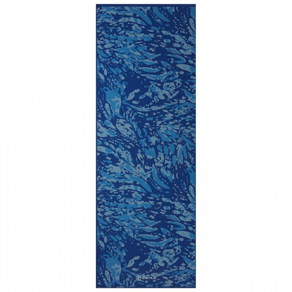 Saltea Yoga Gaiam Premium - 6 mm - Coastal Blue 0