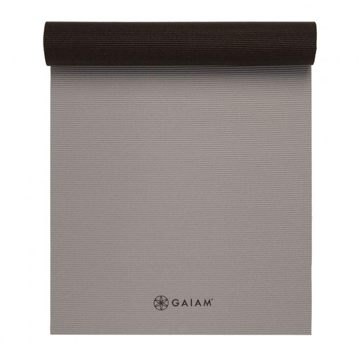 Saltea Yoga Gaiam Reversibila - 6 mm - Granite/Storm 3