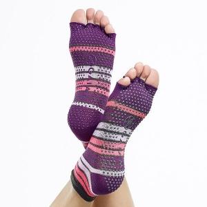 Șosete Fara Degete Yoga Gaiam - Mov2