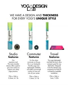 Saltea Commuter Yoga Design Lab - 1,5 mm - Dreamscape6