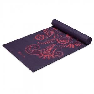 Saltea Yoga Gaiam - 6 mm - Aubergine Swirl2