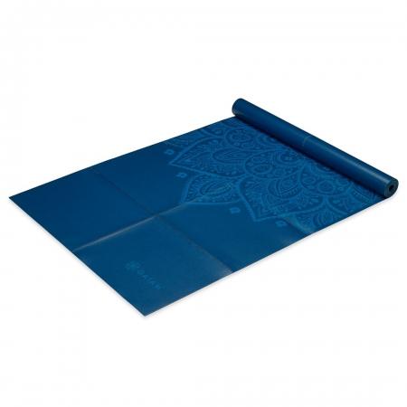 Saltea Yoga Gaiam Pliabila - 2 mm - Sundial Albastru1