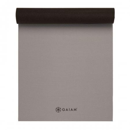 Saltea Yoga Gaiam Reversibila - 6 mm - Granite/Storm3
