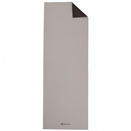 Saltea Yoga Gaiam Reversibila - 6 mm - Granite/Storm1
