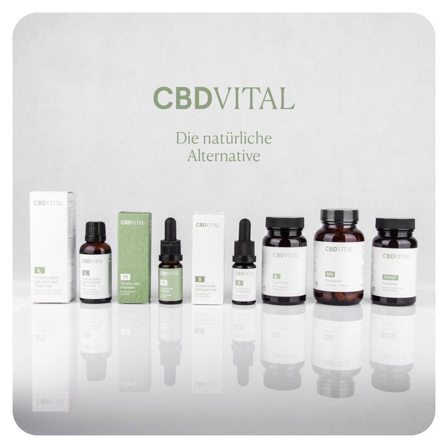 CBD VITAL - produse si ulei de canabis de cea mai inalta calitate