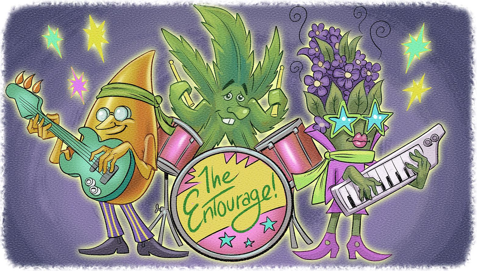 entourage effect anturaj ulei CBD planta cannabis