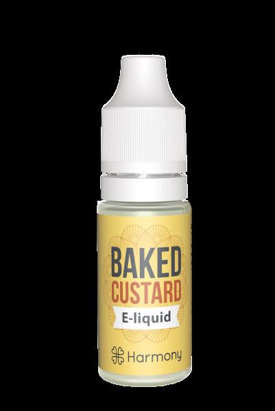 E-Lichid CBD - aroma Baked Custard - CBD Pur, Organic, 100% Natural - Fara Nicotina sau THC 1