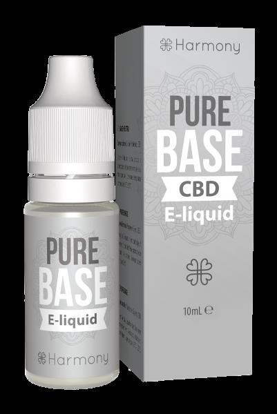 E-Lichid CBD Pure Base - CBD Pur, Organic, 100% Natural - Fara Nicotina sau THC 0
