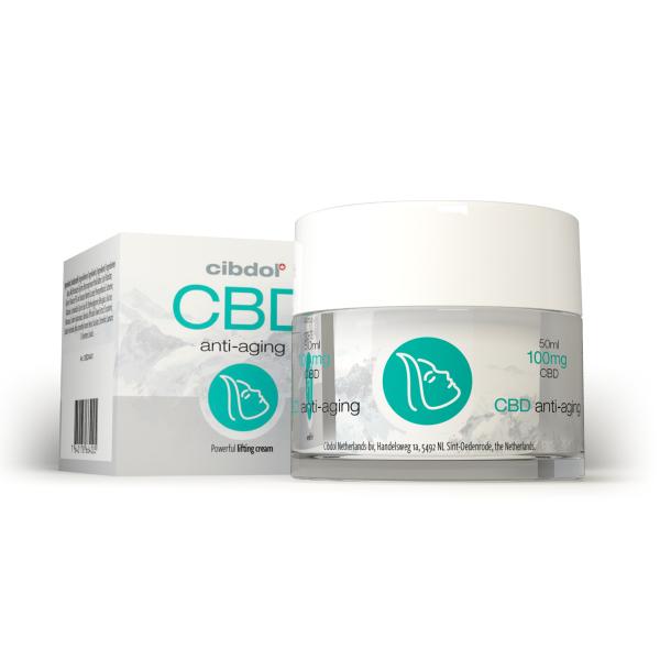 Crema Anti-Aging cu CBD - Cibdol 0
